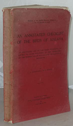 An Annotated Checklist of the Birds of: Gibson-Hill, C. A.