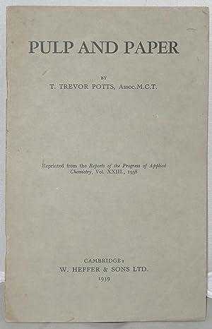Pulp and Paper [Offprint]: Potts, T. Trevor