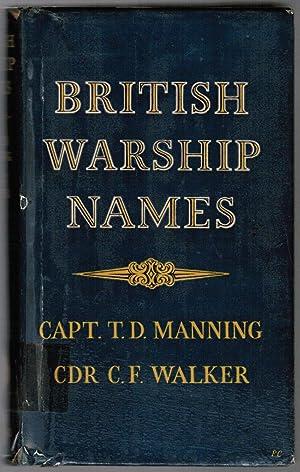 British Warship Names: Manning, Captain T.