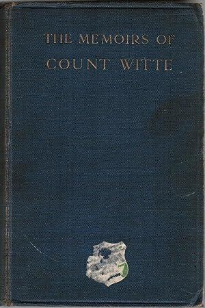The Memoirs of Count Witte: Yarmolinsky, Abraham (Translator/Editor)