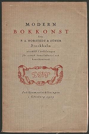 Modern Bokkonst fran P. A. Norstedt &: P. A. Norstedt