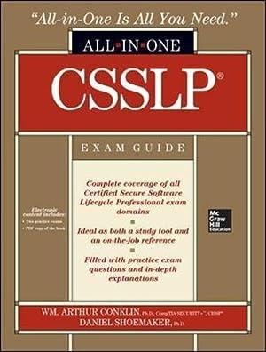 CSSLP Certification All-in-One Exam Guide: Conklin, Wm. Arthur;