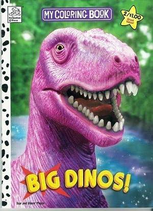 MY COLORING BOOK - BIG DINOS: n-a