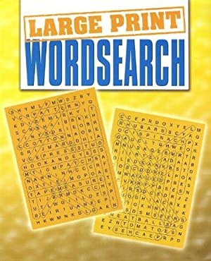 Large Print Wordsearch (Large Print Puzzles Series): Experts, Various