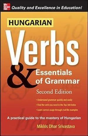 Hungarian Verbs & Essentials of Grammar 2E.: Torkenczy, Miklos
