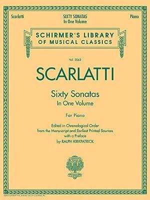 60 Sonatas, Books 1 and 2 (Schirmer's