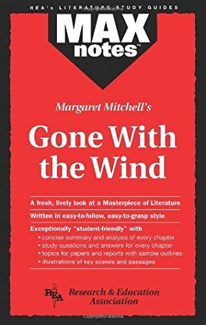 Gone with the Wind (MAXNotes Literature Guides): Rae M.A., Gail;