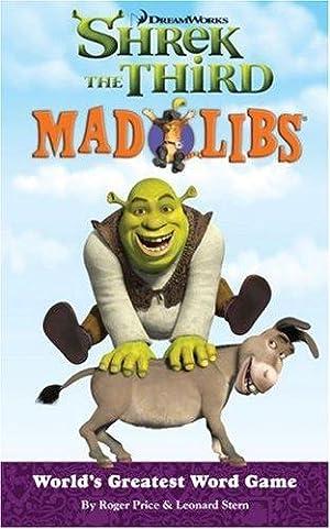 Shrek the Third Mad Libs: Price, Roger; Stern,