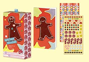 Gingerbread Holiday Sticker Note Cards: Style, Potter