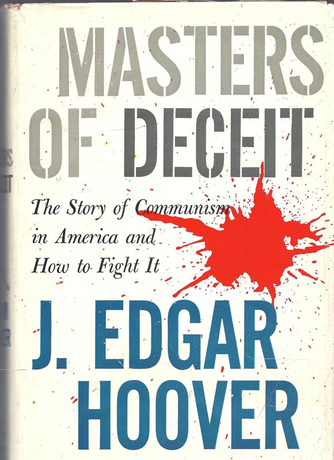 an analysis of the american history concept and the roles of j edgar hoover