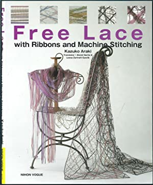 Free Lace with Ribbons and Machine Stitching