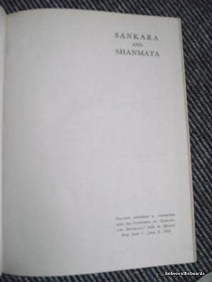 Sankara and Shanmata Madras June1-June 6 1969: Ramaratnam, N.