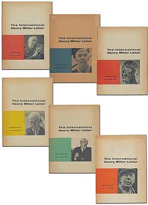 The International Henry Miller Letter, No. 1, June 1961; No. 2, December 1961; No. 3, August 1962; No. 4, December 1962; No. 5, August 1963; No. 6, April 1964