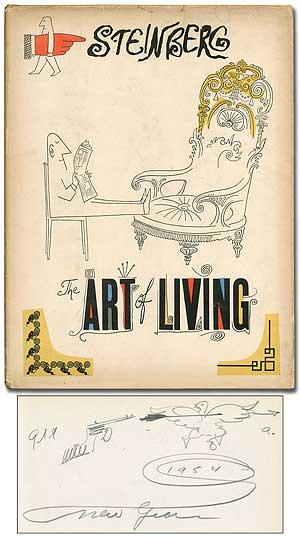the art of living by steinberg saul harper and brothers new york