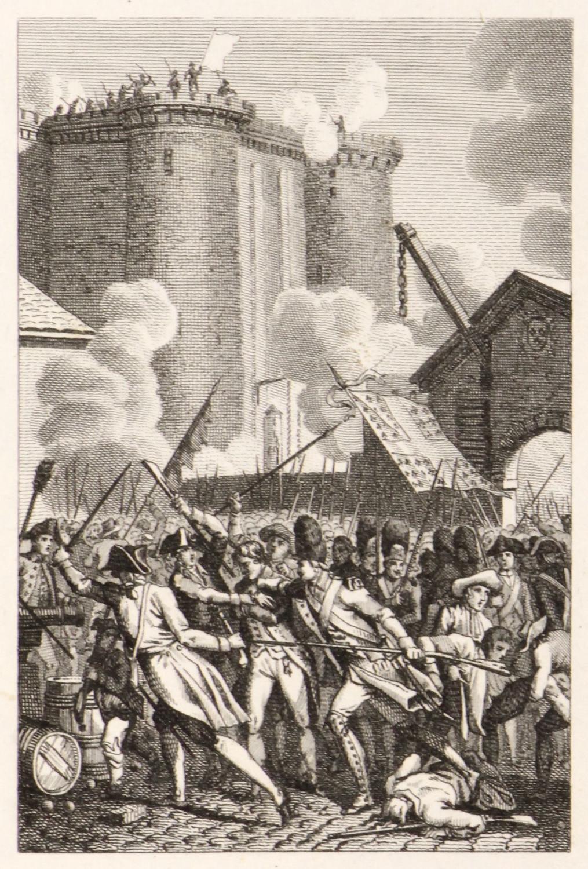 16 copperplate engravings]: Révolution [Tableau de la révolution française / Scenes of the ...