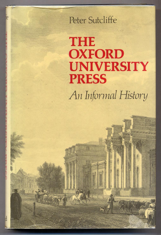 The Oxford University Press An Informal