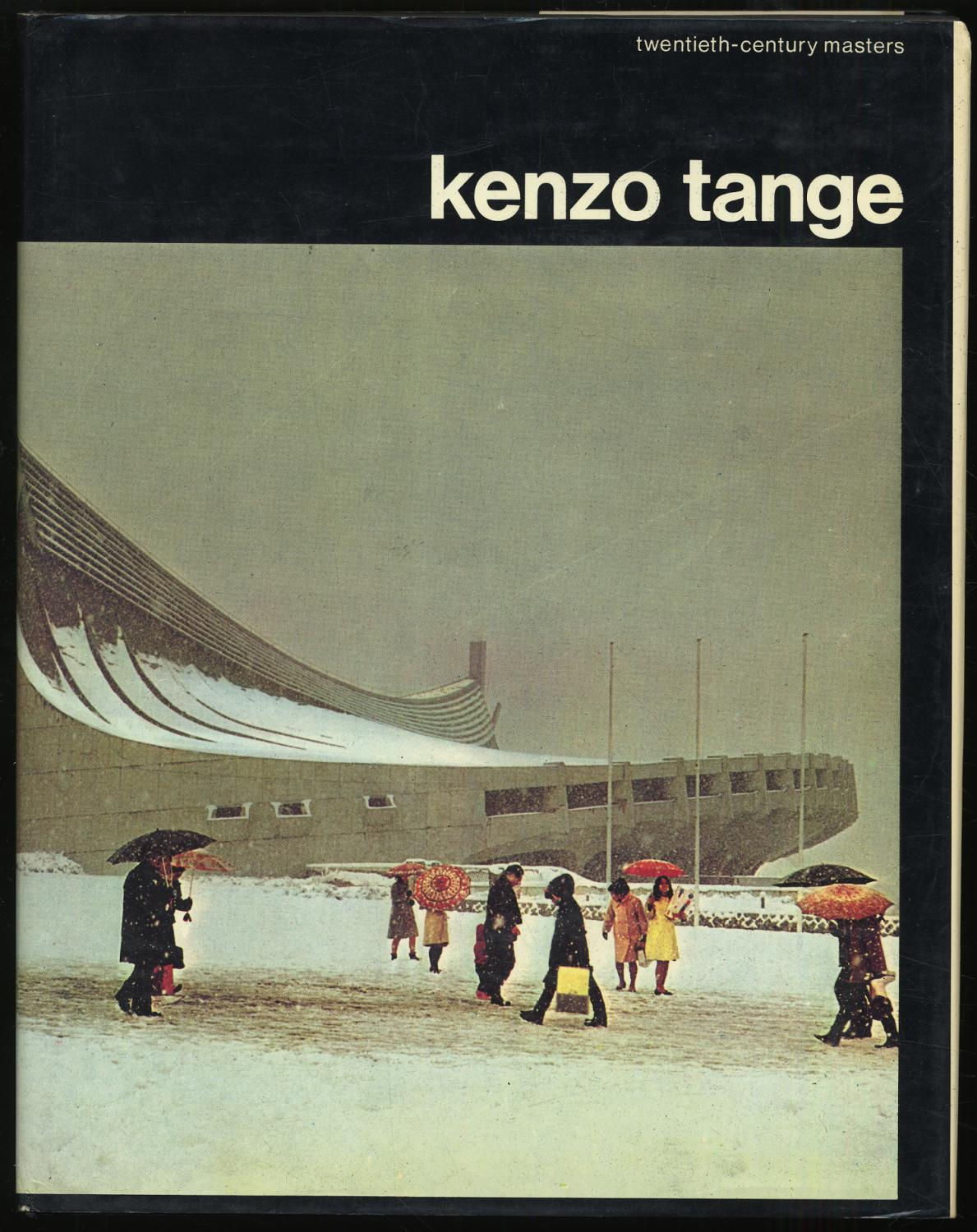 Kenzo Tange RIANI, Paolo Fine First edition. Fine in a fine dustwrapper with the spine printing off center.