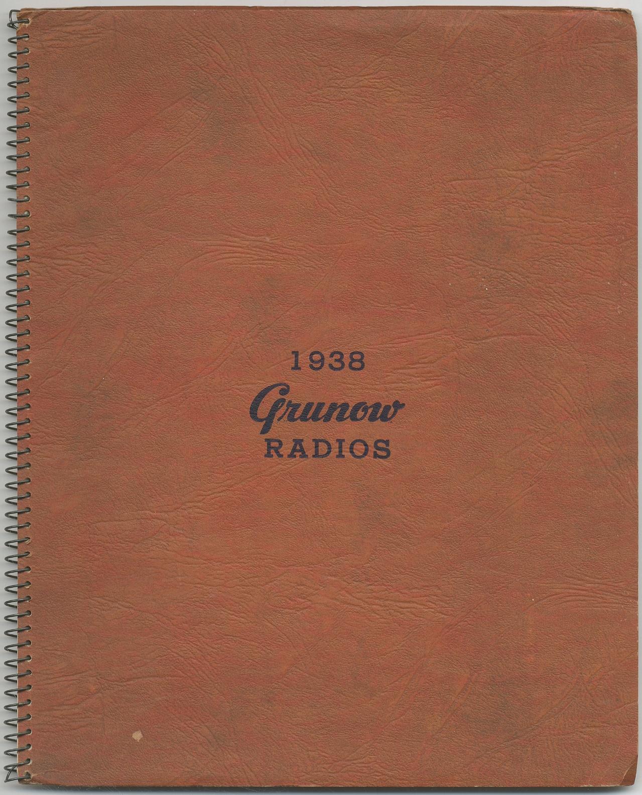 [Catalog]: 1938 Grunow Radios Fine