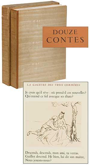 Douze Contes [Twelve Tales] LA FONTAINE, Jean de Near Fine