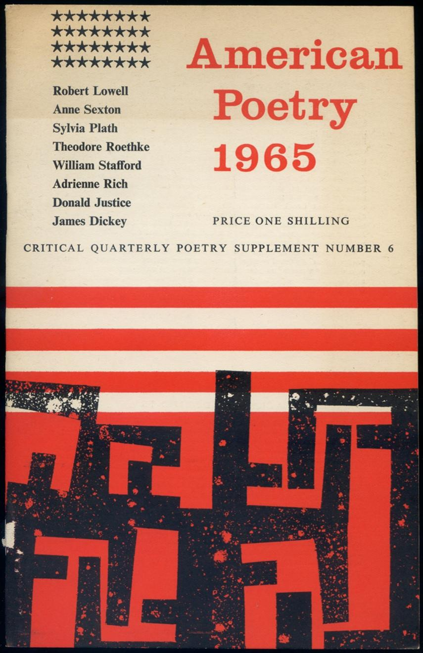 American Poetry 1965: Critical Quarterly Poetry Supplement Number 6