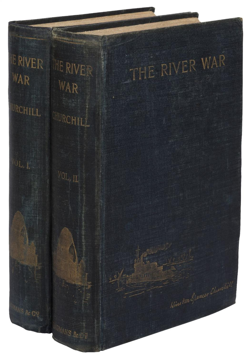 The River War: An Historical Account of: CHURCHILL, Winston Spencer