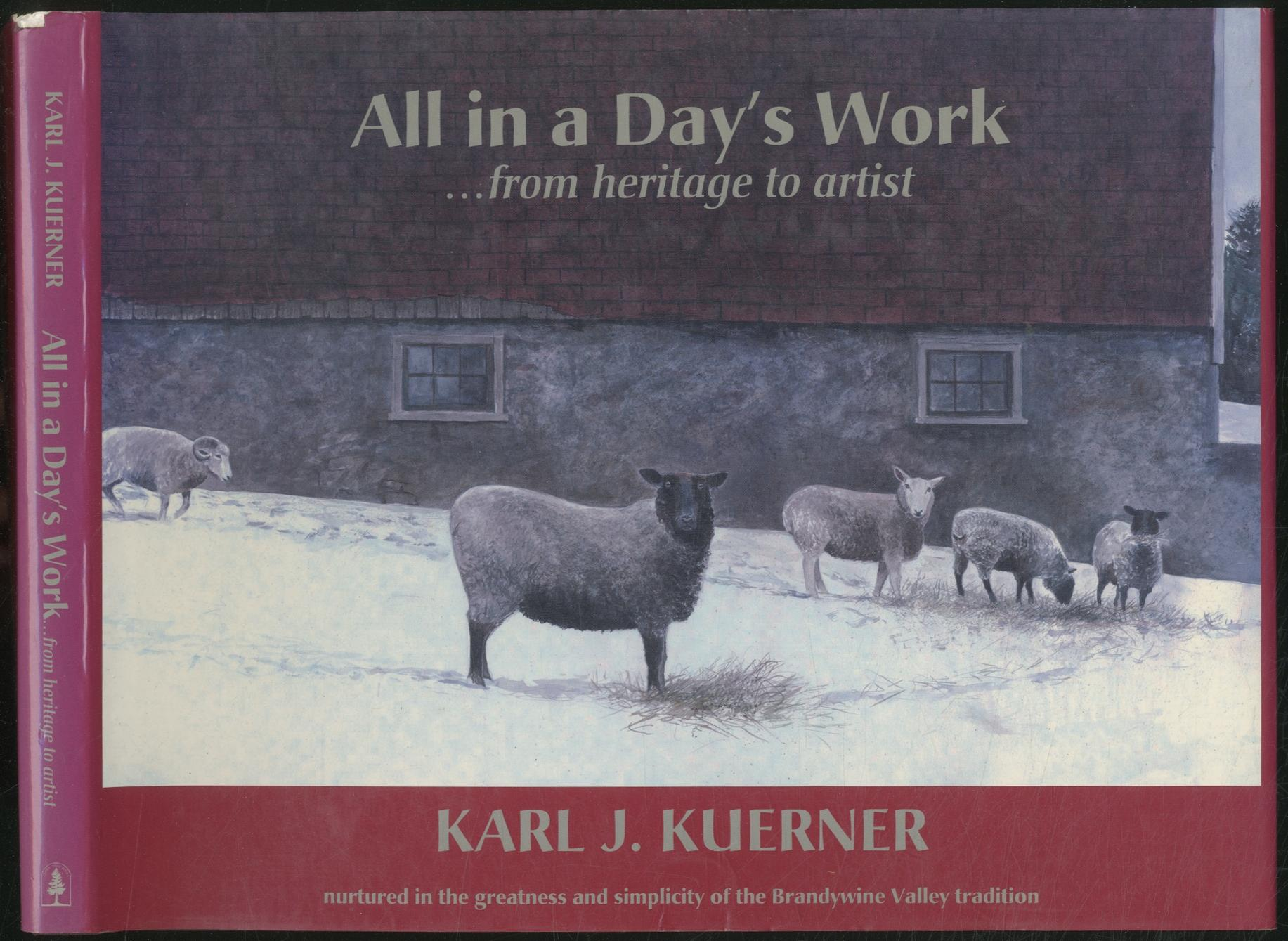 All_in_a_Days_Work_from_Heritage_to_Artist_KUERNER_Karl_J_Très_bon_Couverture_rigide