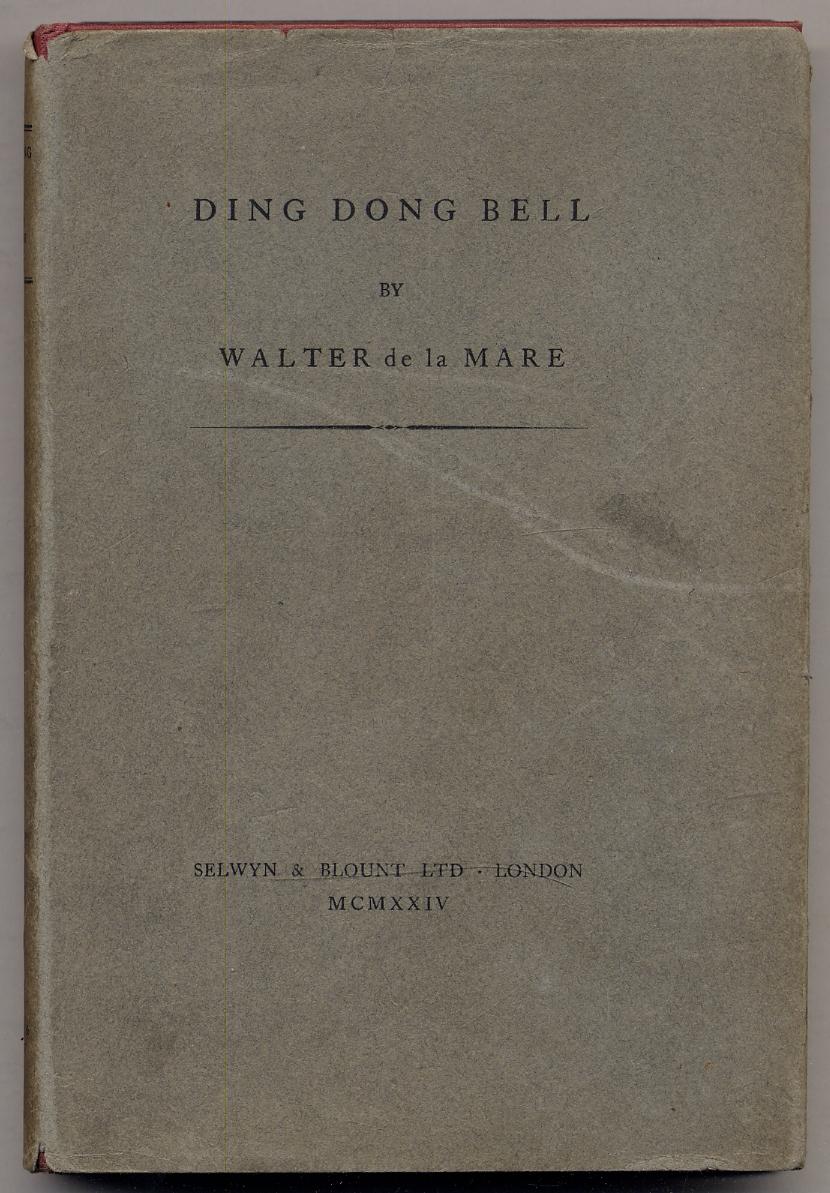 Ding Dong Bell de la MARE, Walter Fine
