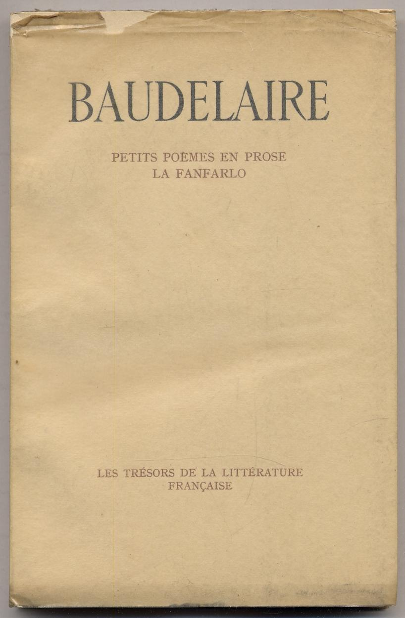 Fanfarlo De Charles Baudelaire Iberlibro