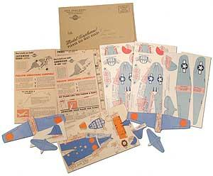 wheaties paper airplane kit jack armstrong general mills