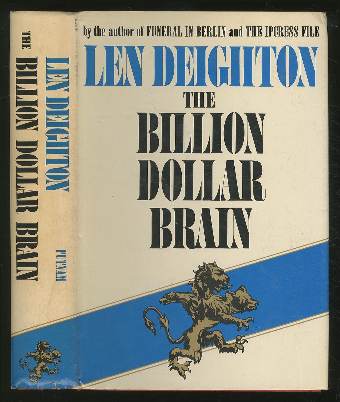 The Billion Dollar Brain DEIGHTON, Len