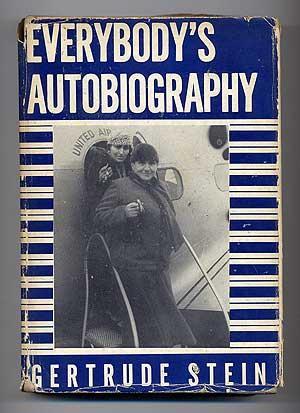 Everybody's Autobiography STEIN, Gertrude Near Fine