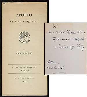 Apollo in Times Square LELY, Nicholas G.