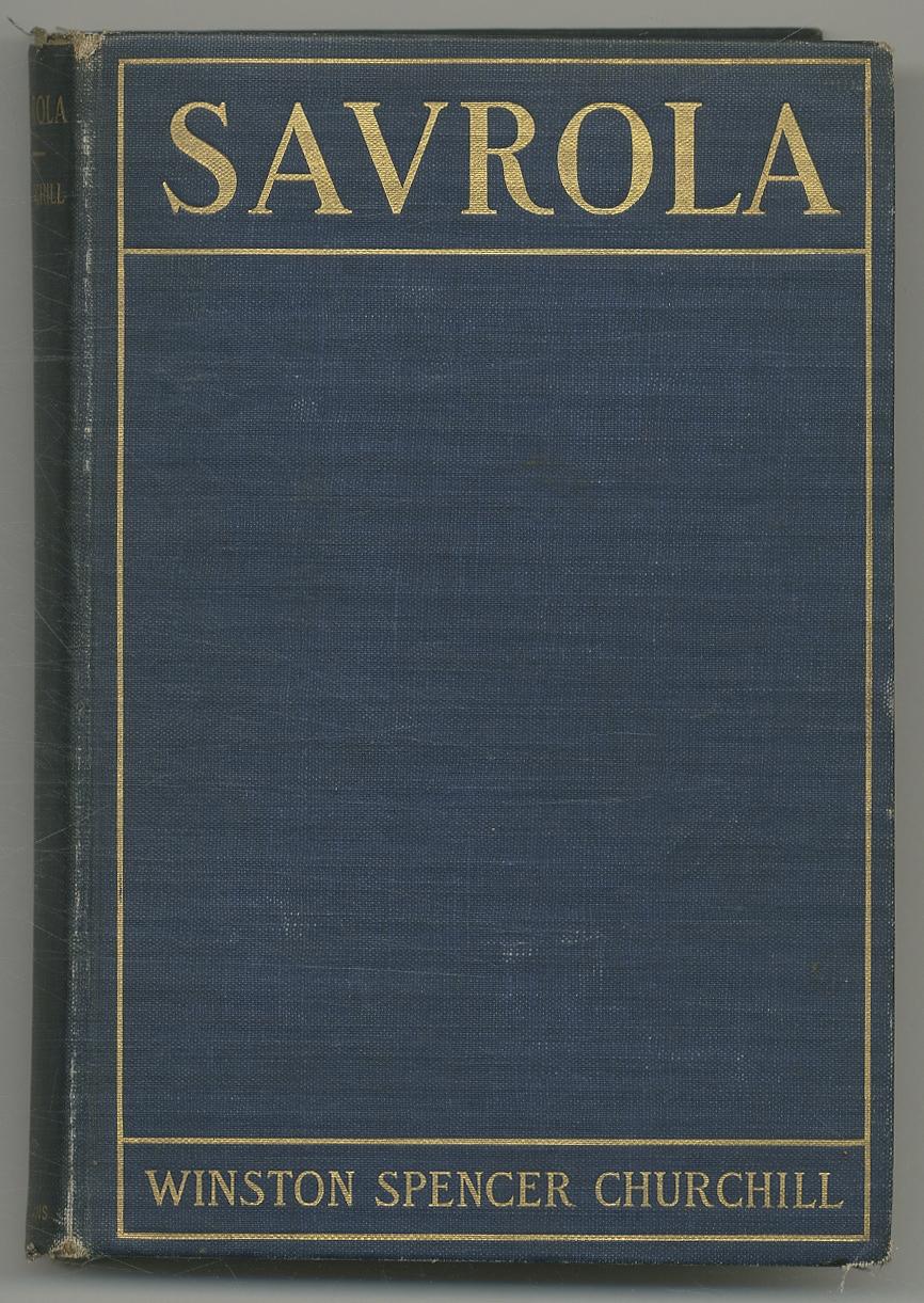SAVROLA: A Tale of the Revolution in: Churchill, Winston Spencer