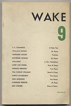 Wake -- 9: CUMMINGS, E.E., Marianne