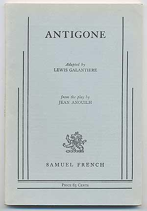 Antigone: ANOUILH, Jean. Adapted