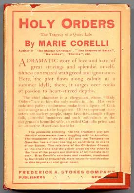 Holy Orders: The Tragedy of a Quiet: CORELLI, Marie