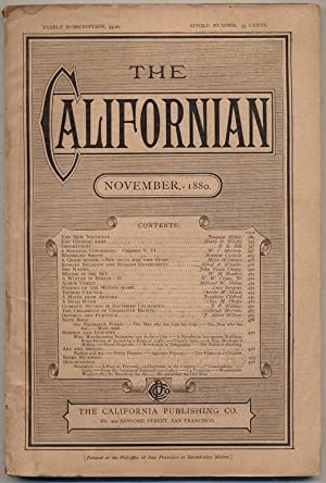 The Californian: A Western Monthly Magazine: Vol. II, November, 1880, No. 11