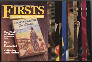 Firsts: Collecting Modern First Editions: [Twelve Issues]: