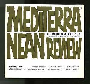 Mediterranean Review: An International Quarterly of Literature: DEMARIA, Robert, editor