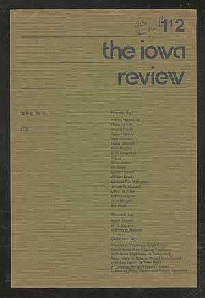 The Iowa Review, Spring 1970, Volume 1, No. 2