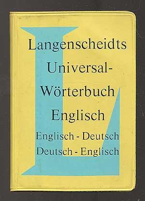 Langenscheidts Universal-Worterbuch Englisch: Englisch-Deutsch, Deutsch-Englisch