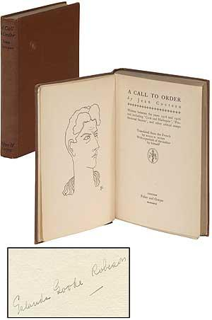 A Call to Order: Written between the years 1918 and 1926 and including 'Cock and Harlequin'...