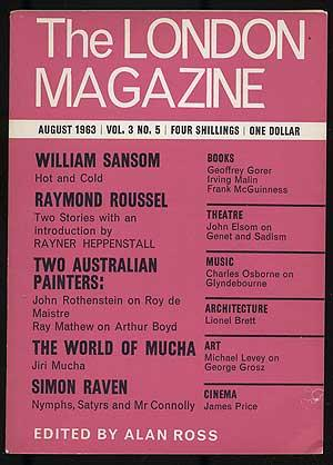 The London Magazine: August 1963, Volume 3, Number 5