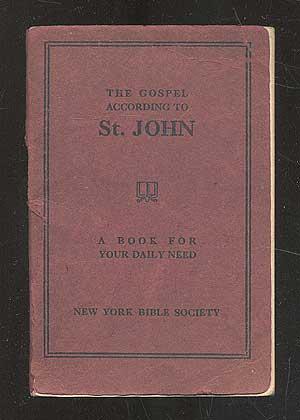 The Gospel According to St. John: SAINT John