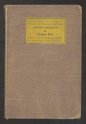 Annie Besant: WEST, Geoffrey