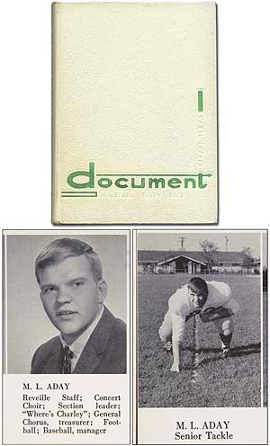 High School Yearbook]: Document Nineteen Sixty Five: MEATLOAF, pseudonym of M.L. Aday)