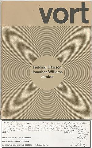 Vort #4 Fall 1973: DAWSON, Fielding and