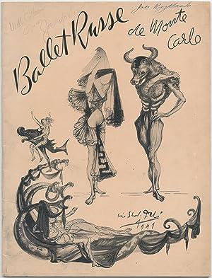 Program]: S. Hurok Presents Ballet Russe de: DALI, Salvador)