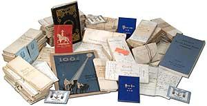 Collection of Documents, Correspondence, and Ephemera from the Masonic Welcome Lodge No. 453 in P...