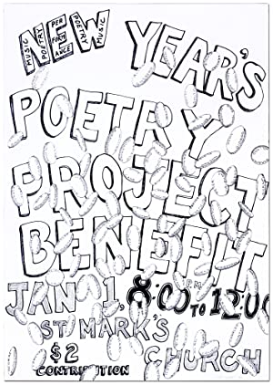 [Broadside]: New Year's Poetry Project Benefit Jan 1, 8:00 to 12:00 St. Mark's Church